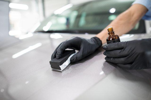 Phủ nano bóng sơn cho xe Hyundai Sonata