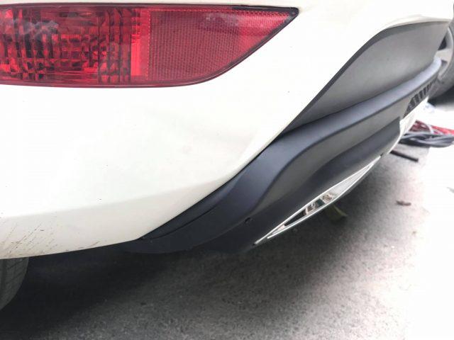 Lip pô xe Ford Fiesta