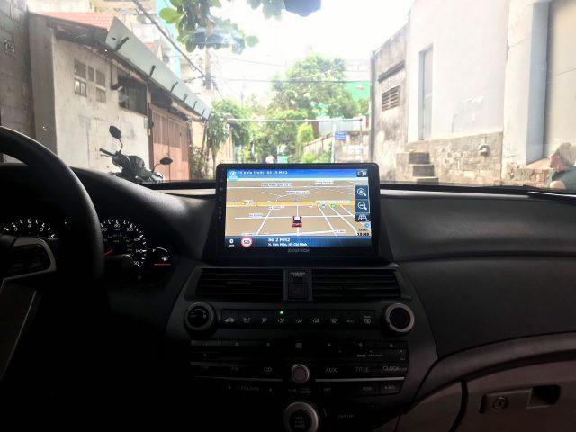 Màn hình dvd Zestech cho xe Honda Accord