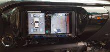 Camera 360 độ lắp cho xe toyota Hilux