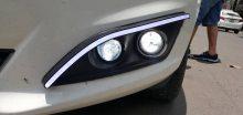 Độ đèn bi gầm xe Ford Fiesta