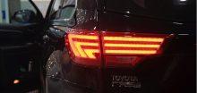 Độ đèn hậu cho xe Toyota Highlander