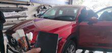 Độ nút gập gương lên kính xe Mazda CX5