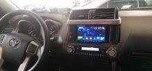 Lắp màn hình dvd cao cấp cho xe Toyota Prado