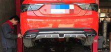 Líp pô chia đôi pô cho xe Hyundai Sonata