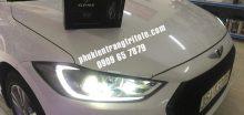 Thay bóng đèn Led pha cho xe Hyundai Elantra