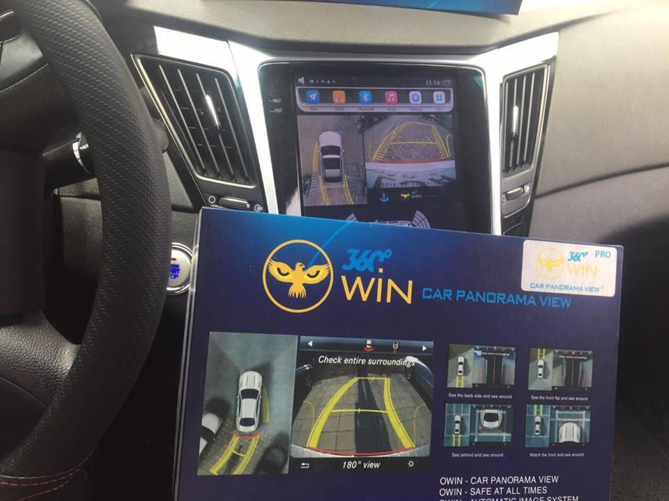 Camera 360 độ cho xe Hyundai Sonata
