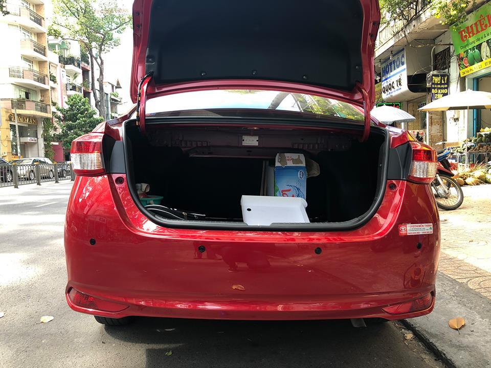 Lắp cảm biến lùi cho xe Toyota Vios 2018