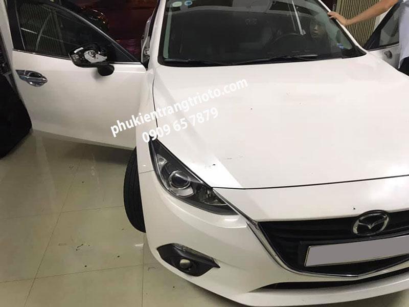 Độ gập gương tự động cho xe Mazda 3