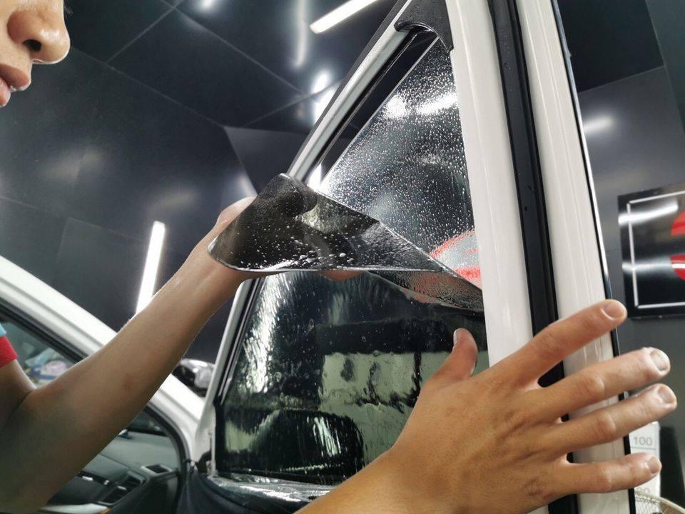 Dán phim cách nhiệt cho xe Toyota Fortuner 2021