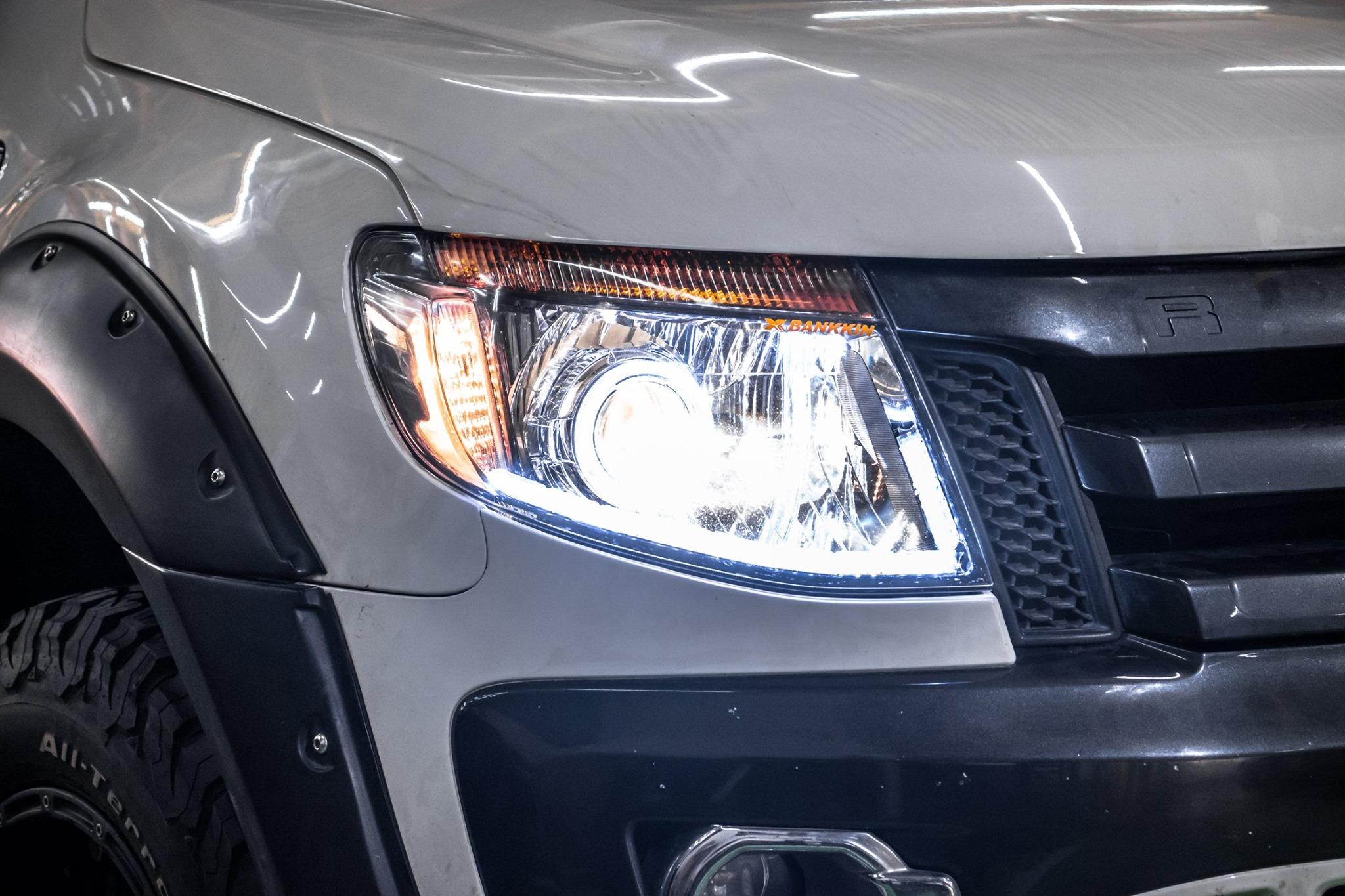 Độ đèn Ford Ranger